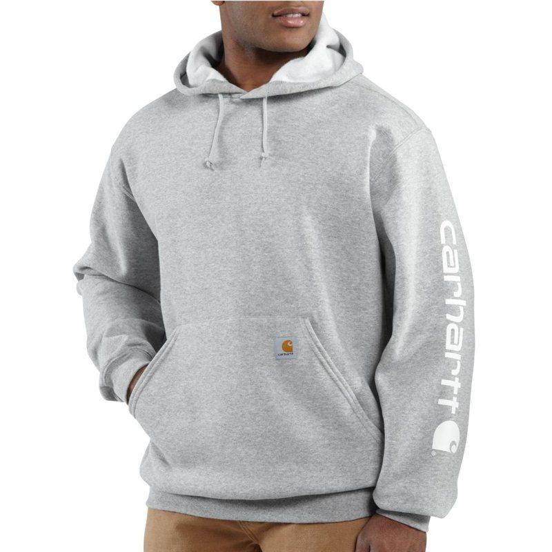 bd5ef076502 K288 Midweight Signature Sleeve Logo Hooded Sweatshirt (in Heather ...