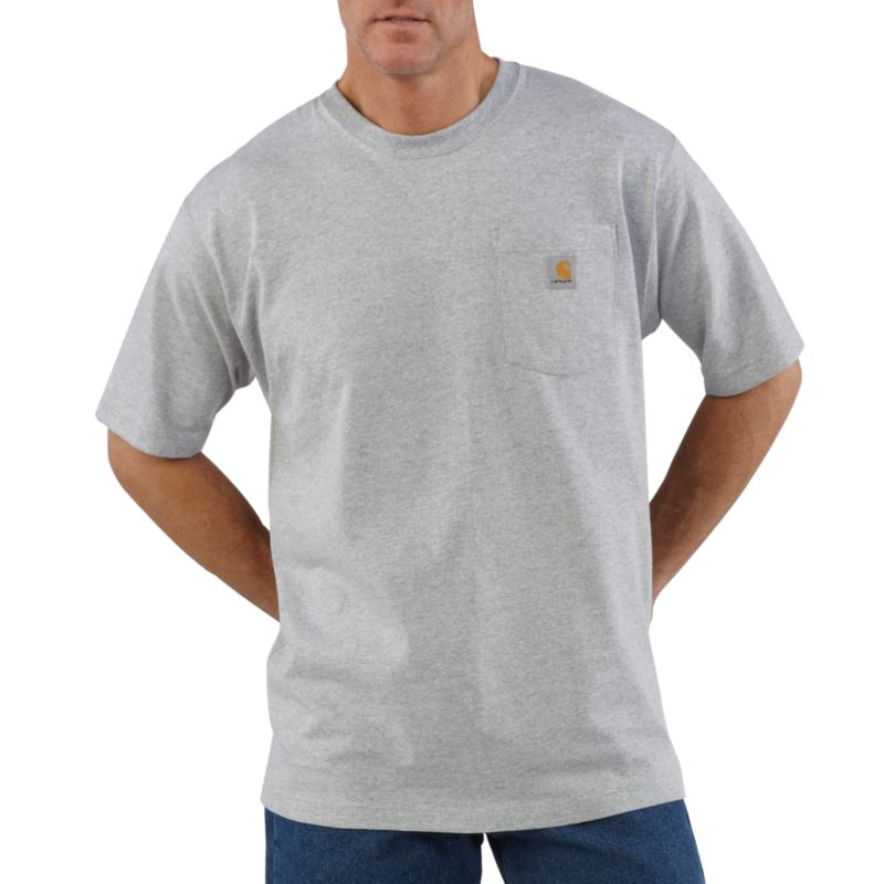 Carhartt Men/'s /'K87/' Workwear Pocket Short-Sleeve T-Shirt
