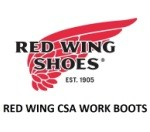 RED WING CSA WORK BOOTS