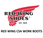 RED WING CSA BOOTS
